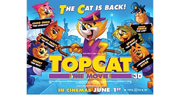 Amazon com: Top Cat Poster ( 30 x 40 - 77cm x 102cm ) (UK - Style A