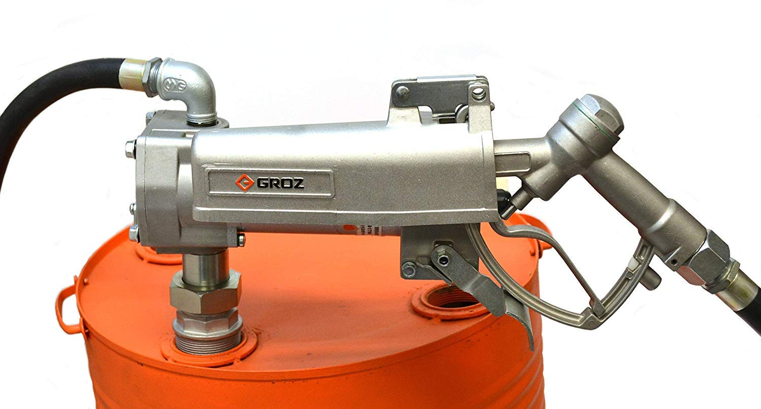 Groz 44040 Electric Fuel Pump, Explosion Proof, 12V DC, 15