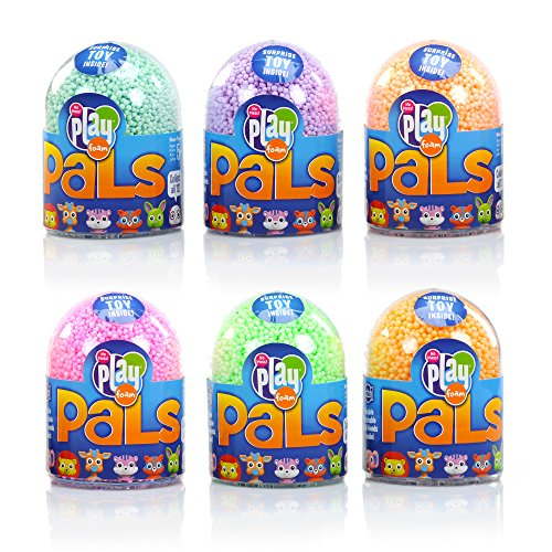 Educational Insights Playfoam Pals Wild Animals 6-Pack: Surprise Egg and Squishy Playfoam