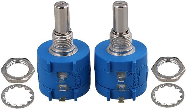 1pcs 3590S-2-202L 2K Ohm Rotary Wirewound Precision Potentiometer Pot 10 Turn