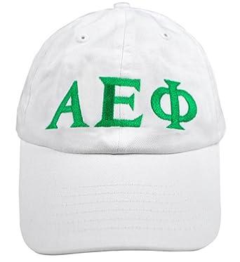04b9daeae8c Image Unavailable. Image not available for. Color  Express Design Group  Greekgear Alpha Epsilon Phi Greek Letter Hat