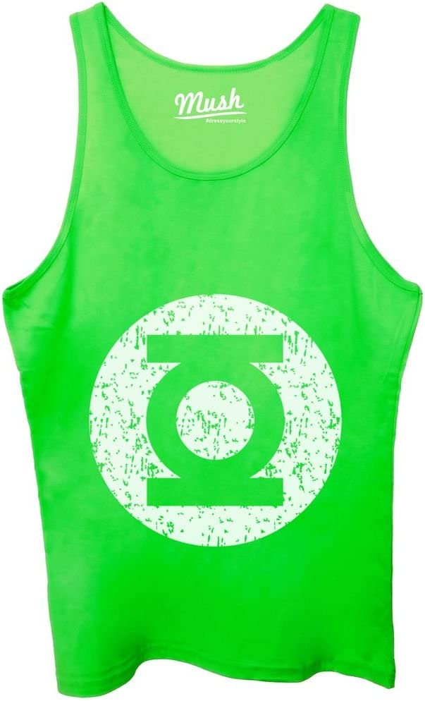 MUSH Canotta Green Lantern Destroy Logo Film by Dress Your Style