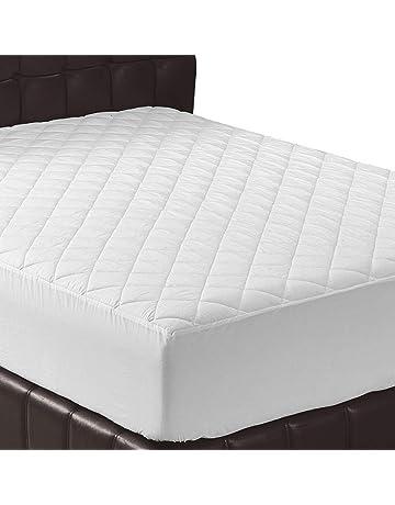 Utopia Bedding - Protector de colchón Acolchado - Microfibra - Antiácaros - Transpirable - Funda para