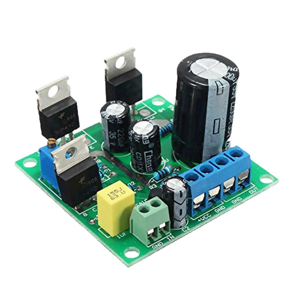 Sharplace Dc12v 24 V Tip41c Modulo Di Amplificazione Mono Canale Scheda Pura Classe A