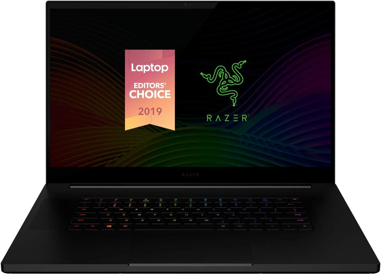 "Razer Blade Pro 17 Gaming Laptop 2019: Intel Core i7-9750H, NVIDIA GeForce RTX 2080 Max-Q, 17.3"" FHD 240Hz, 16GB RAM, 512GB SSD, CNC Aluminum, Chroma RGB Lighting, Thunderbolt 3, SD Card Reader"