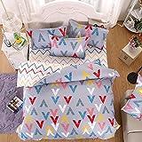 Duvet Cover Bedding Set Includes Duvet Cover Flat Sheet Pillowcase No Comforter MJ Twin Full Queen IKEA Tree Wall Street Casino Angela Design Children Teens (Angela, Green, Full, 70''x86'')