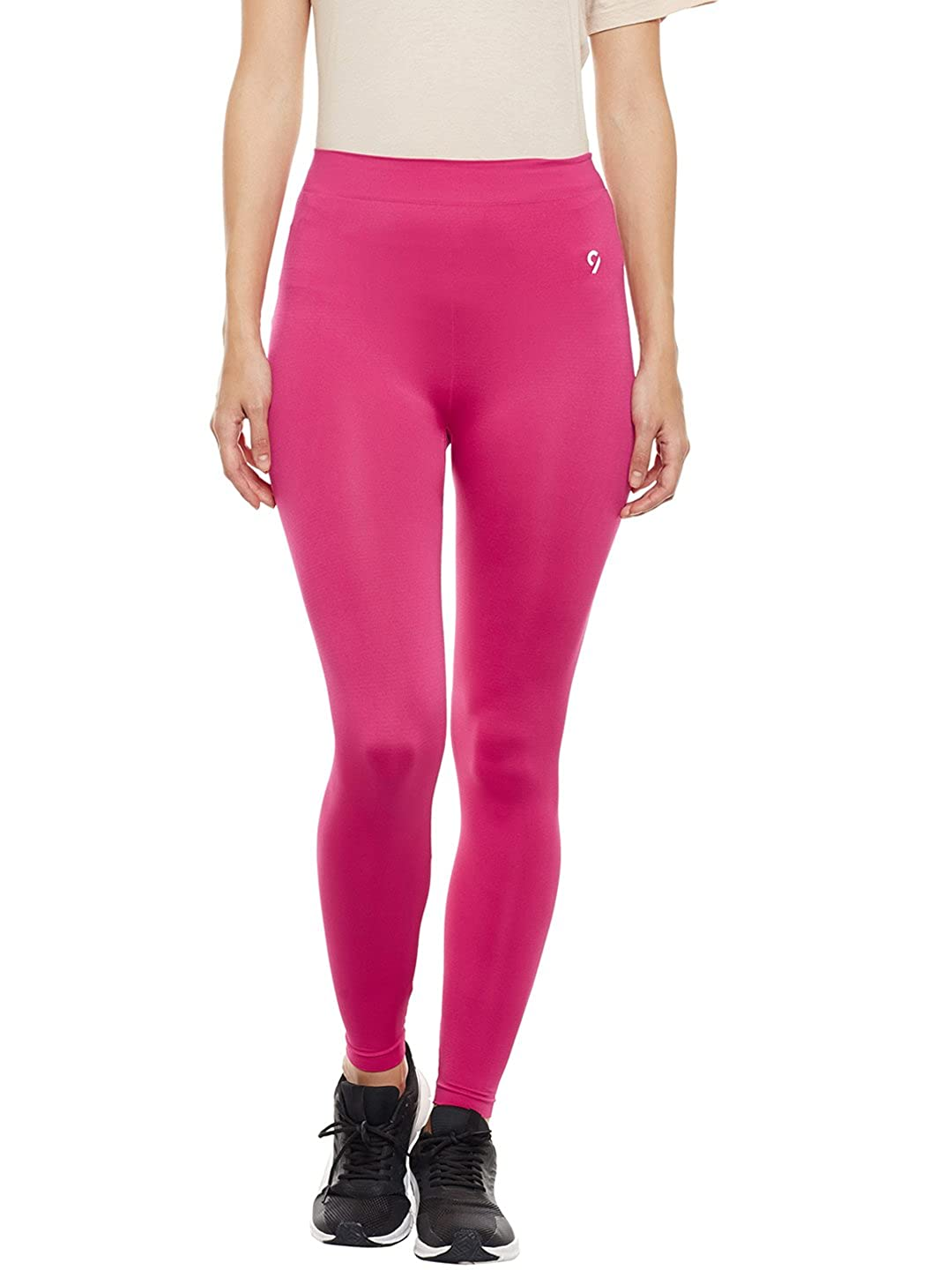 356c570651289e C9 Seamless Women's Solid Brown Ankle Length Legging (Pink, XL): Amazon.in:  Clothing & Accessories