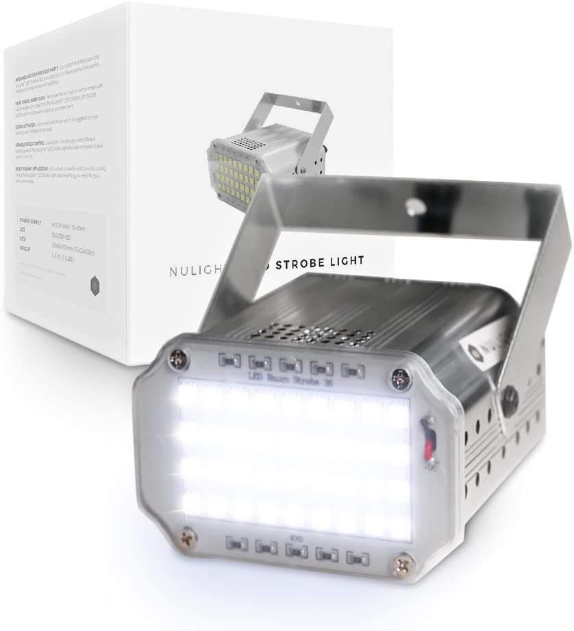 LED Strobe Light by NuLights - Strobe Flash Party Lights