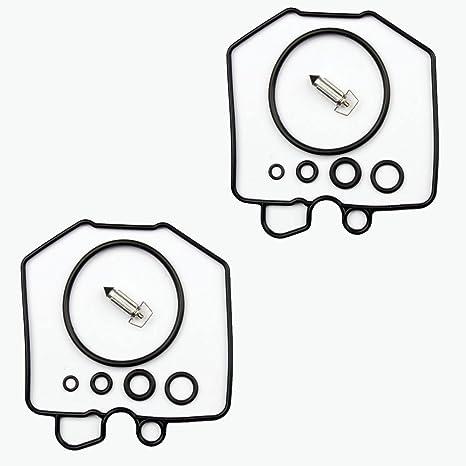 2x Kit Reparación Carburador Aguja del flotador Getor CAB-H1