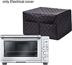 Convection Toaster Oven Cover, ZEENEEK Smart Oven Dustproof Cover Large Size Cotton Quilted Kitchen Appliance Protector Storage Bag With 2 Accessary Pockets, Machine Washable