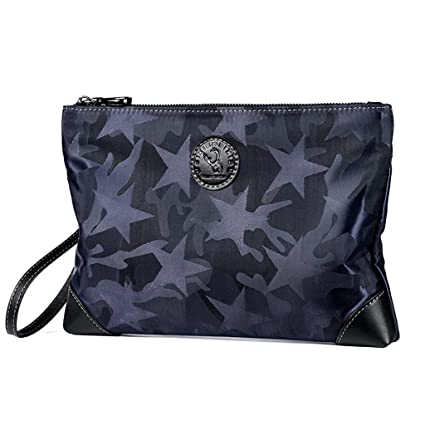 Bolsos De Mano Hombre Lona Oxford Clutch Bag Underarm Bag Negocios Billetera Mu?eca Embrague