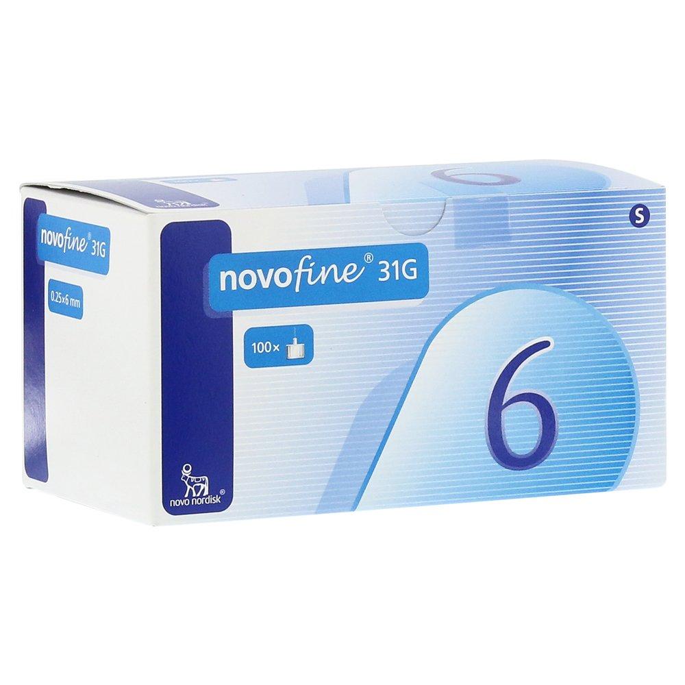 Novofine 6 Cannulas 0.25 x 6 mm (Pack of 100)