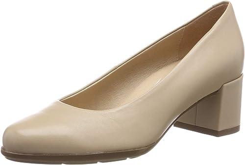 Geox d annya mid b scarpe con tacco donna amazon shoes beige