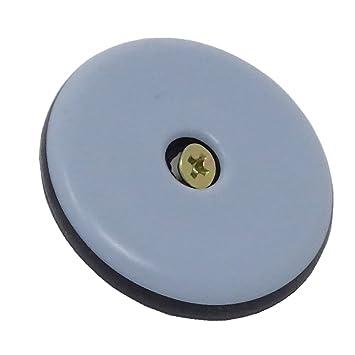 5mm Möbelgleiter 20 Stück SBS® Teflongleiter selbstklebend eckig Stärke
