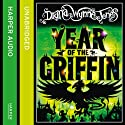 Year of the Griffin Audiobook by Diana Wynne Jones Narrated by Jonathan Broadbent