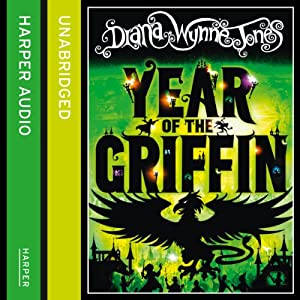 Year of the Griffin Hörbuch
