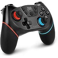 Sendowtek Control Inalámbrico para Nintendo Switch Pro, Joystick Remoto Bluetooth para Consola Nintendo Switch, Gamepad…