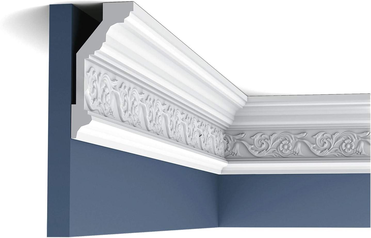 Cornice Moulding Panel Moulding Stucco Decoration 2 m Orac Decor C303 LUXXUS