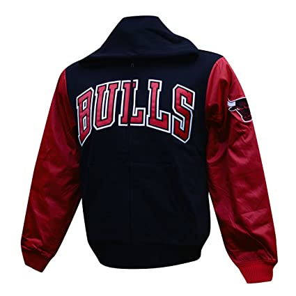 bb0246594f0 Amazon.com   Mitchell   Ness Mens NBA Skill Position Jacket (Medium ...