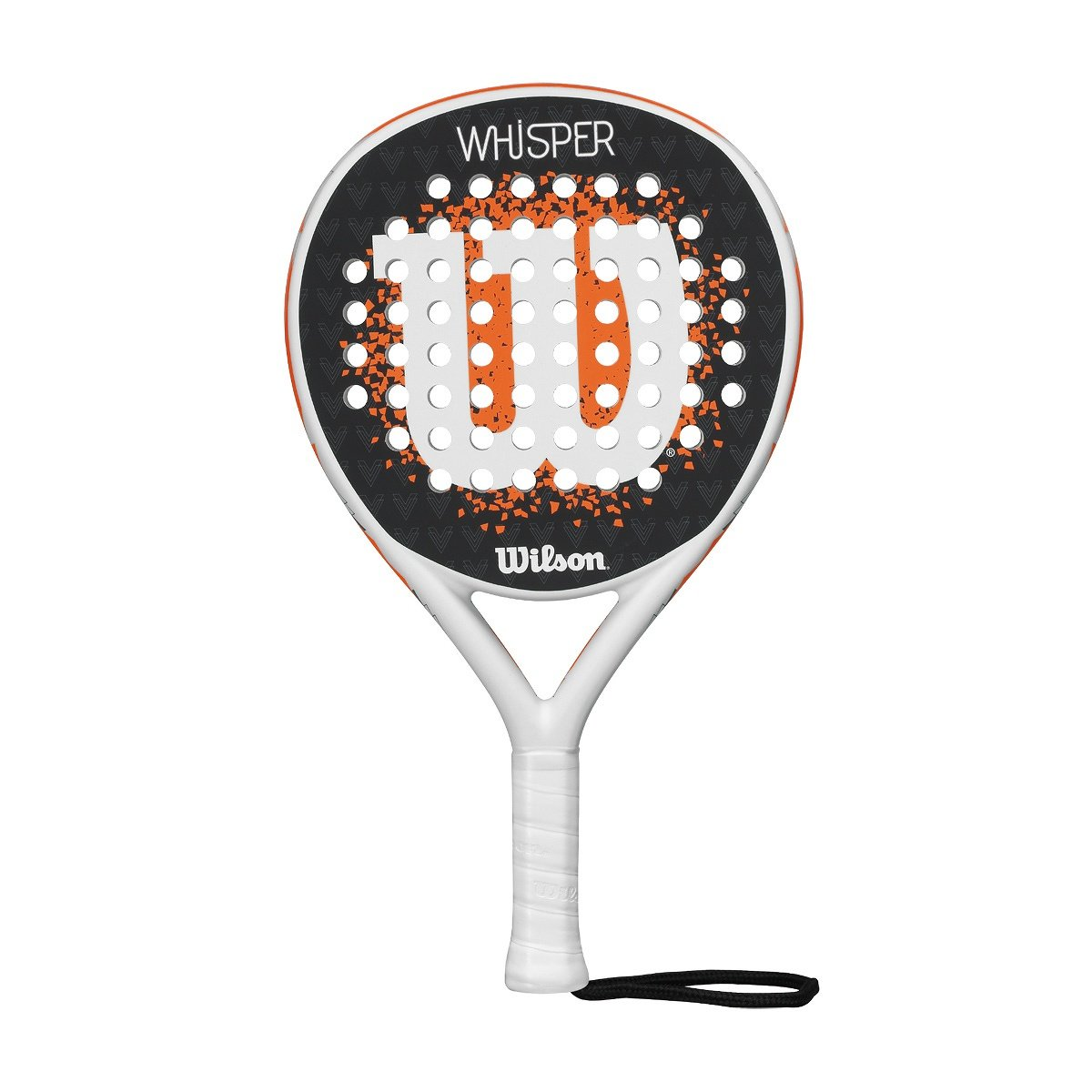Wilson Whisper Paddle RKT WHOR - Pala de pádel, Color Blanco ...