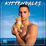 2021 Kittendales: Men and the Kitties They Love 16-Month Wall Calendar
