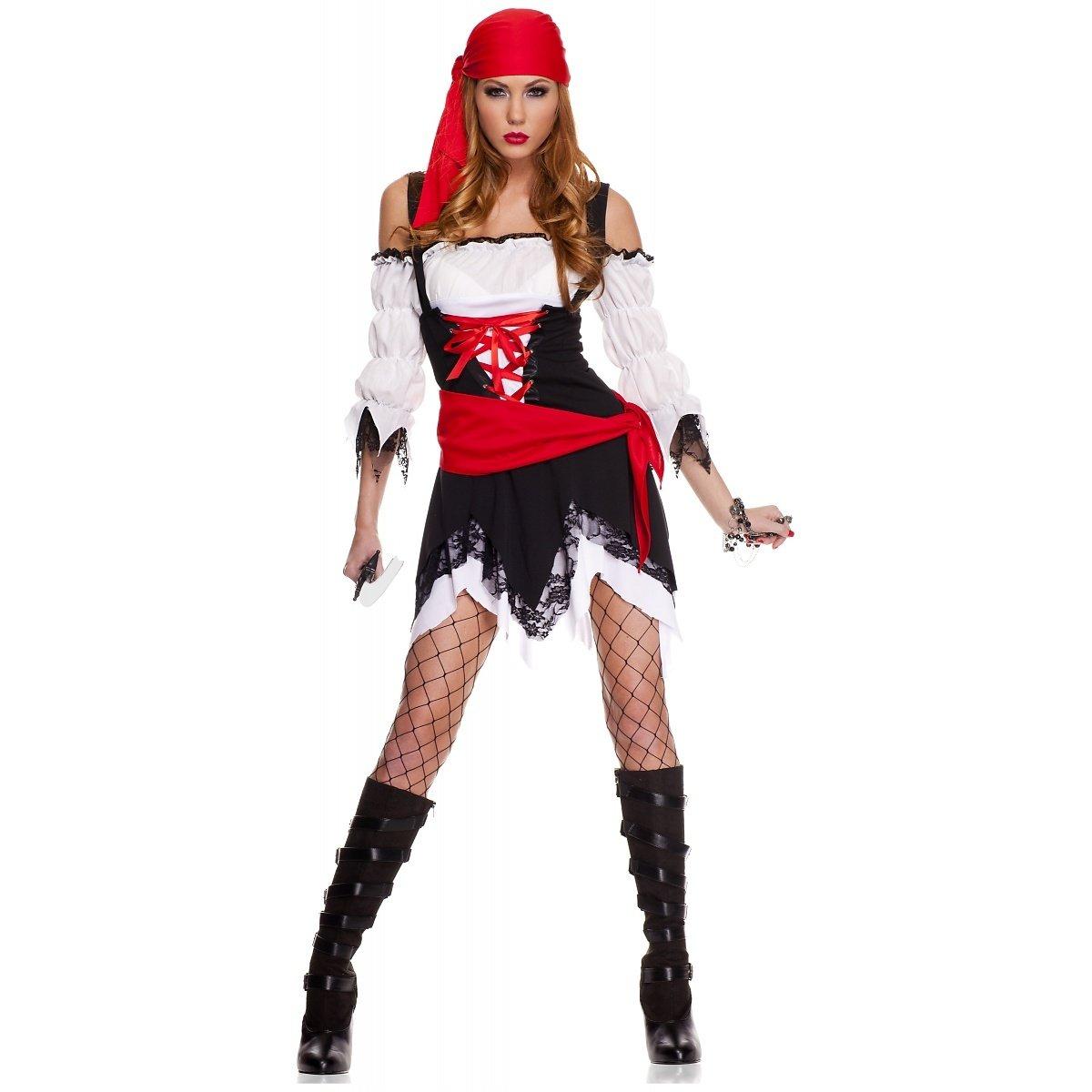 Amazon.com: Pirata Vixen disfraz para adultos – Pequeño ...