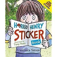 Horrid Henry Sticker Book: Over 200 Stickers!