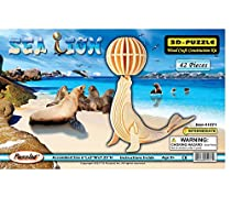 3-D Wooden Puzzle - Sea Lion -Affordable Gift for your Little One! Item #DCHI-WPZ-H012