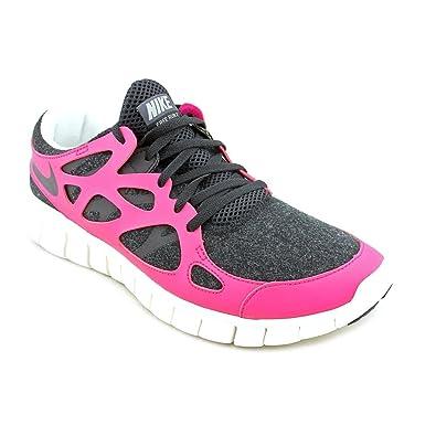 sale retailer ebfa6 57e05 NIKE Free Run 2 Womens EXT Running Shoes,Black Black Fireberry Sail
