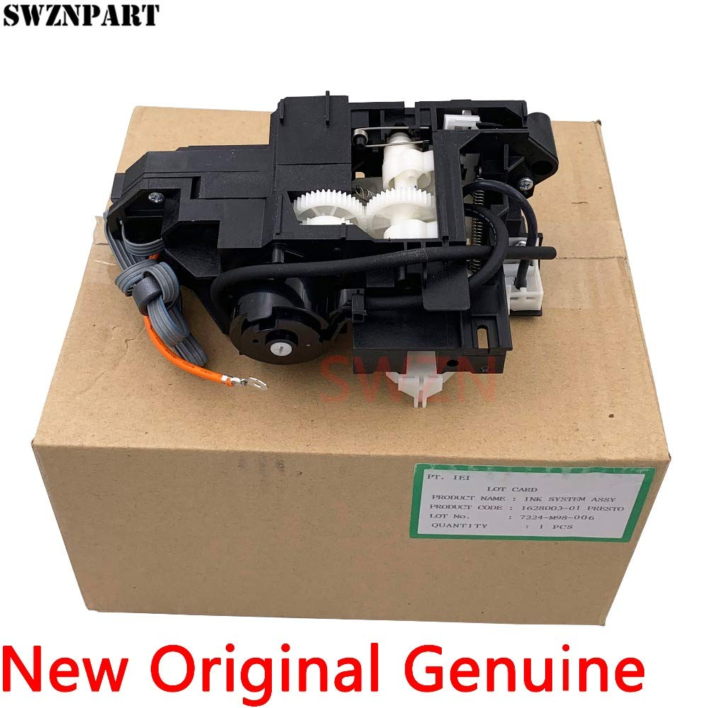 Color: 1 Piece Printer Parts New Original Capping Station Assembly Ink Pump Assembly for Eps0n T1100 T1110 B1100 ME1100 L1300 PX1001 PX1004 1628003-01