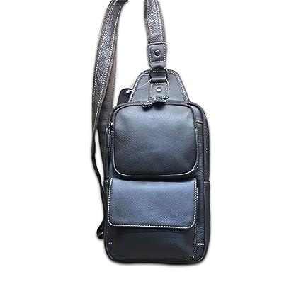 0b8c967e0c96 Amazon.com: Xiejuanjuan Water Resistant Sling Bag Men's Chest Bag ...
