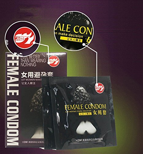 Aikes Female Condoms Adult Sensitive Orgasm Latex Stimulate Condoms for Women (6)