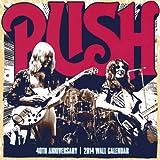 Rush 40th Anniversary Calendar, , 1554842794