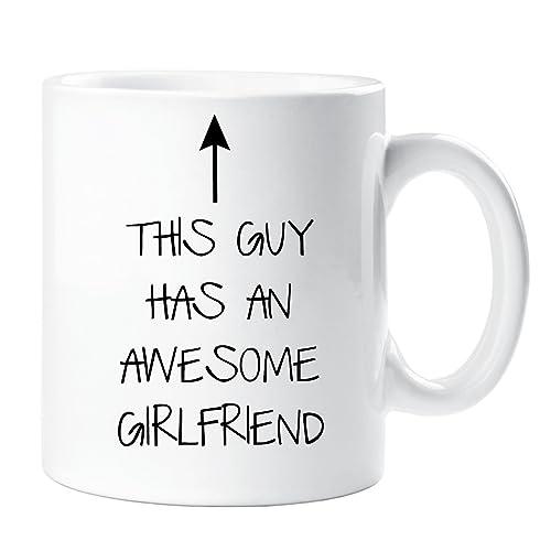 This Guy Has An Awesome Girlfriend Mug Boyfriend Gift Present Christmas Birthday Valentines Anniversary