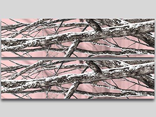 ピンク迷彩カモフラージュビニールストライプCorn穴ボード12