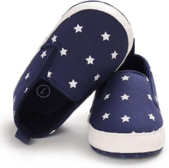 Ortego Chaussure B/éb/é Gar/çon Premier Pas Mode Souple Plat Antid/érapant Confort