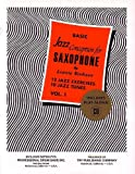 TRY1057 - Basic Jazz Conception for Saxophone (Vol 1), 12 Jazz Exercises 10 Jazz Tunes Book/CD