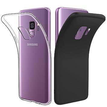 Simpeak Funda Compatible Samsung Galaxy S9(Pack of 2 ...