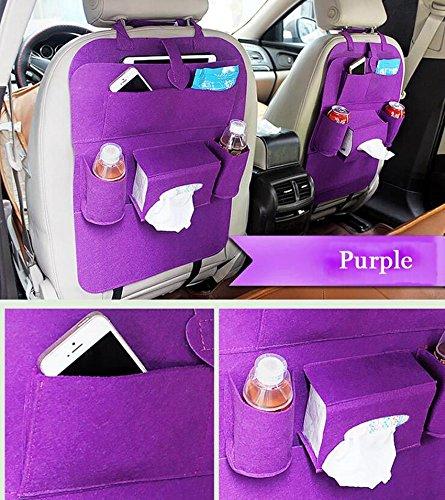 Amazon.com: 2 bolsas de almacenamiento para asiento de coche ...