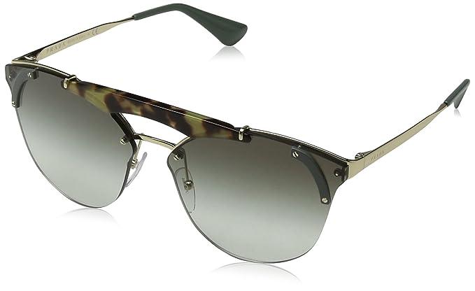 Prada 0PR53US SZ60A7 42, Montures de lunettes Femme, Vert (Pale Gold Medium c011f7e64c9a