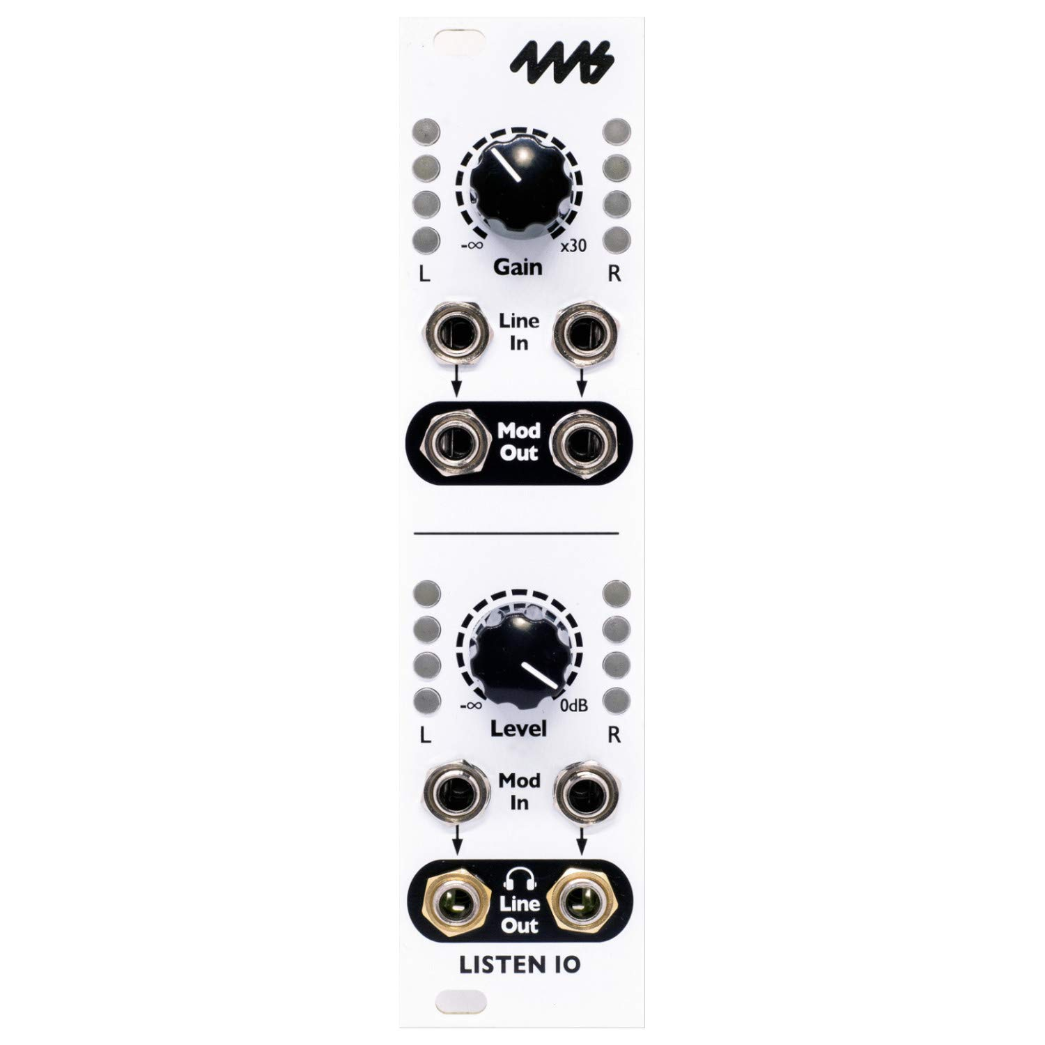 4MS LIO Listen IN/OUT Modular Syth Module by 4MS Company
