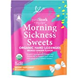 Pink Stork Morning Sickness Sweets: Ginger Mango Morning Sickness Relief Candy for Pregnancy, USDA Organic + Vitamin B6…