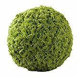 JAROWN Artificial Moss Green Grass Ball Fake Plants for Hanging Garland Home Garden Yard Decor (22cm)