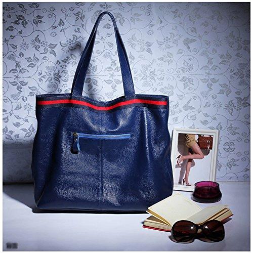 à portés Sac 69313 Bleu cuir portés épaule femme en DISSA main Sac LF main fashion Sac fSxxqtnv
