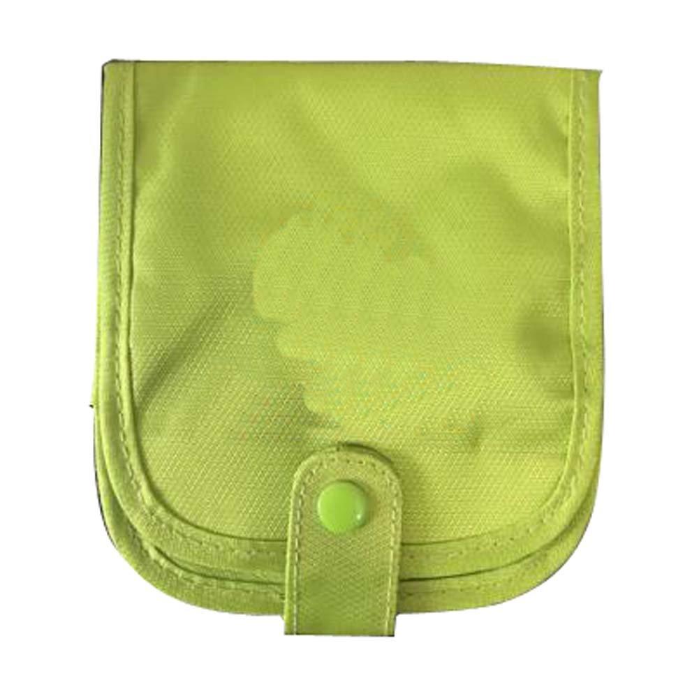 Green Travel First Aid Empty Kit Bag Portable Medicine Box