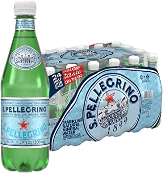 24-Count S.Pellegrino Sparkling Natural Mineral Water 16.9 fl oz.