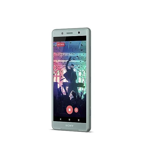 Sony Xperia XZ2 Compact Smartphone de 5 Octa core de 2 8 GHz RAM de 4 GB memoria interna de 64 GB cámara de 19 MP Android color verde Exclusivo Amazon