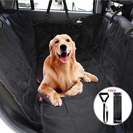 black Durable Pet Back Seat Cover Waterproof Scratchproof Pet Protector Pet Seat Cover Hammock For Cars At All Costs