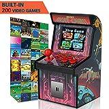 GBD Kids Mini Retro Arcade Game Cabinet Machine 200 Classic Handheld Video Games 2.5'' Display Joystick Travel Portable Game Player Kids Boys Girls Holiday Birthday Gifts Electronic Toys