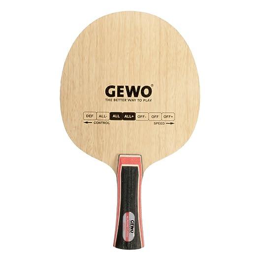 Tenis de mesa | Gewo Allround Classic – Pala (con mango): Amazon ...